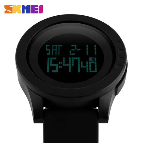 Special Jam Tangan Skmei Trendy Led Dg1142 Black skmei jam tangan digital pria dg1142 black jakartanotebook