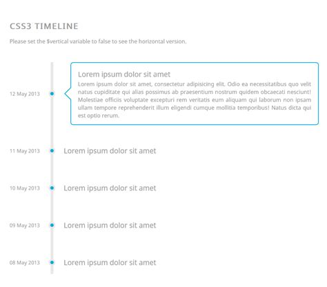 css layout snippets responsive css3 timeline coding code css css3 html html5