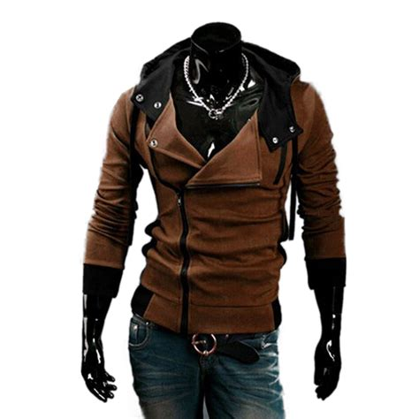 Hoodie Jacket Atticus Sweater Jaket free shipping cos assassin s creed revelations desmond costume hoodie jacket