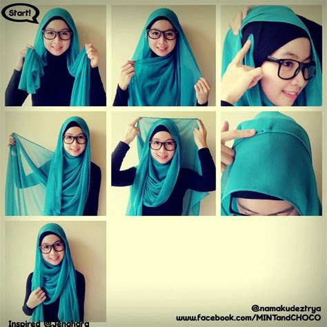 Tutorial Jilbab Pashmina Turban | 17 best images about hijab tutorial pashmina style on