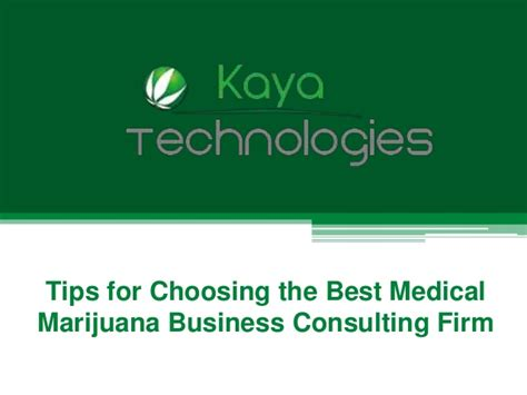 Top Mba Admission Consulting Firms by Tips For Choosing The Best Marijuana Business