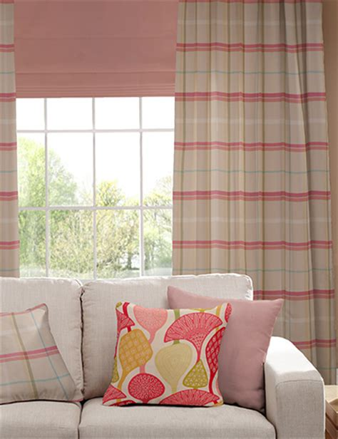 next jacquard curtains curtain details for jacquard check pink next made to