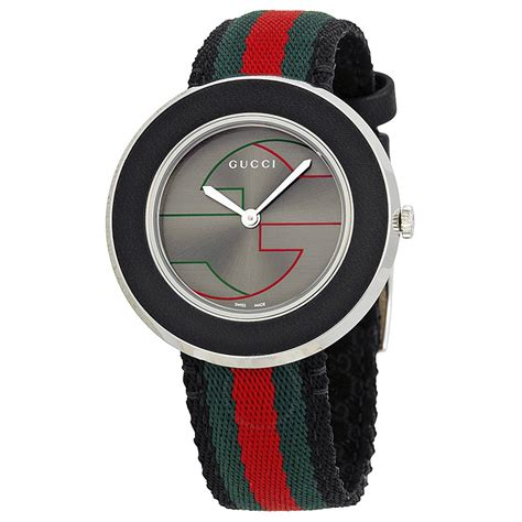 Gu Cci Ceramic gucci u play grey ya129444