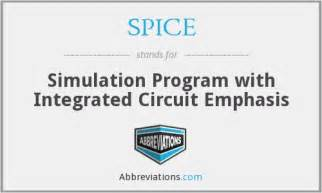 integrated circuit program simulation program with integrated circuit emphasis circuit diagram