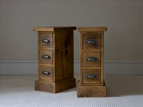small night tables old and vintage pair of small bedside nightstand table