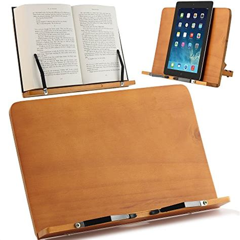 large book holder reading rest laptop stand for table