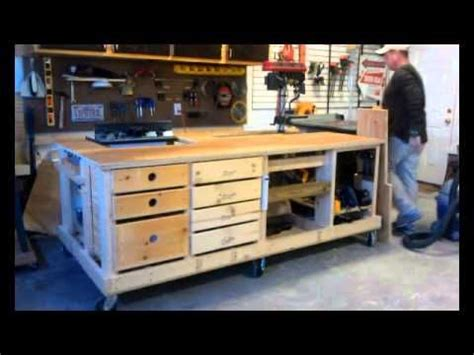youtube woodworking bench workbench youtube workshop pinterest woodworking