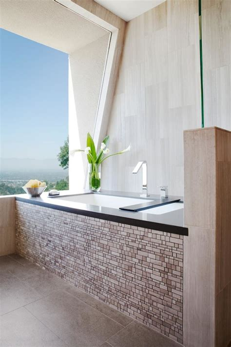 Bathroom Fixtures Los Angeles Los Angeles Cool Bathroom Faucets Contemporary With Beige Tile Tub Surround Heating And Cooling