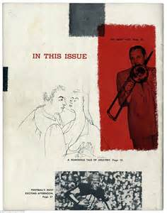 In This Issue by Copy Of Magazine Featuring Marilyn