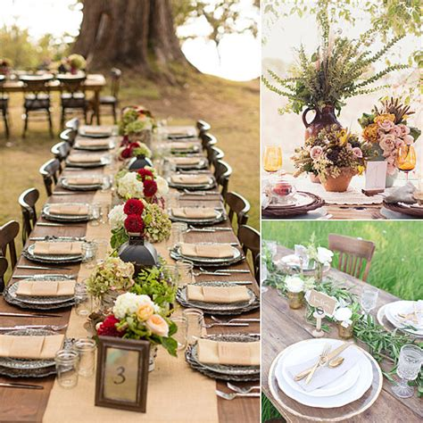 fall wedding table decorations popsugar home