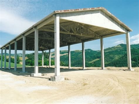 capannone smontato alfa pose prefabbricati in cemento armato ad uso agricolo