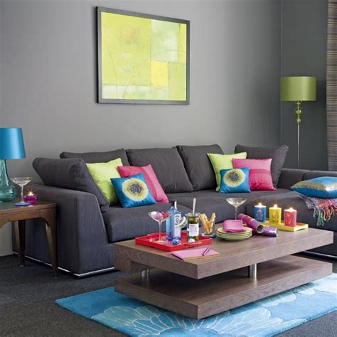 What Colour Walls With Grey Sofa by 69 Fabulous Gray Living Room Designs To Inspire You