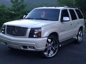 2003 Cadillac Escalade Pearl White 2003 Cadillac Escalade Custom
