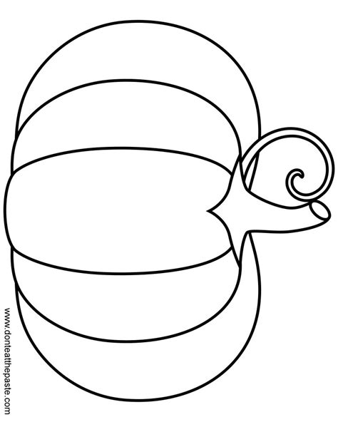 free coloring pages of pumpkin shape