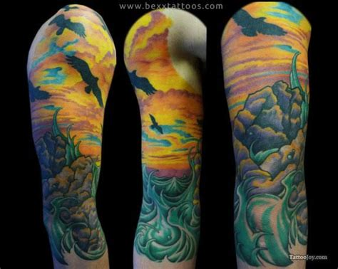water sleeve tattoo 38 best images about tattoos on arrow tattoos