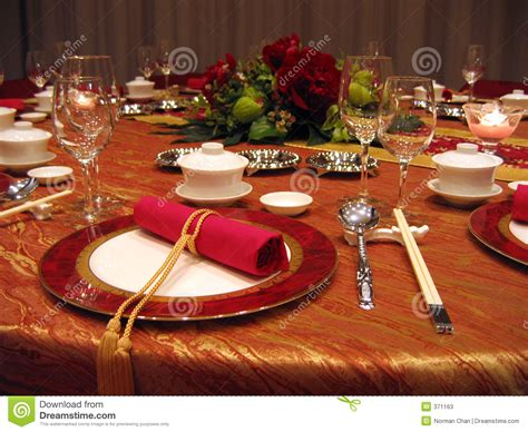 banquet table setup wedding banquet table setting stock image image 371163