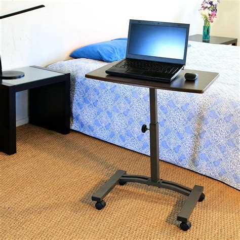 mobile laptop desk seville mobile laptop cart desk computer table portable