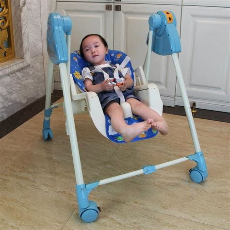 baby sleep moving chair baby feeding seat multifunction booster highchair