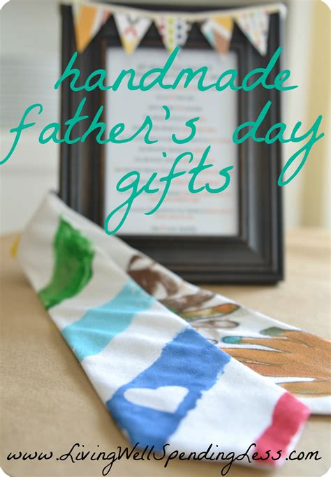 Handmade Fathers Day Gifts - easy handmade father s day tie easy father s day gifts