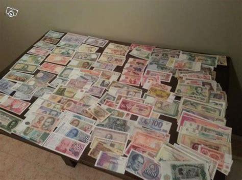 troc echange lot de 200 billets du monde sur troc