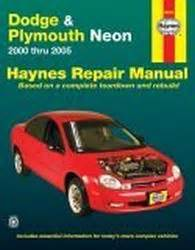 2000 2005 dodge plymouth neon haynes repair manual