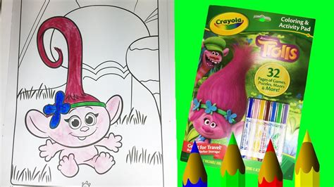 Galerry trolls coloring pages baby poppy