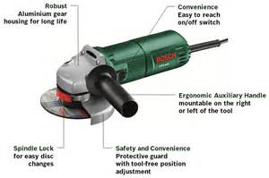 Floor Grinding Machine by Bosch Pws 600 600 Watt Angle Grinder Amazon Co Uk Diy
