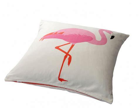 Ko Flamingo White by Ikea Springkorn Cushion Cover Pink Flamingo Pillow Sham