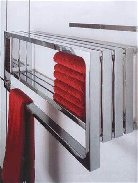 contemporary heated towel rails for bathrooms towel warmer from monte carlo heated towel rails