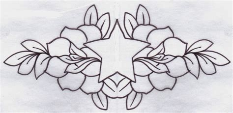 rose tattoo patterns free tattoos book 2510 free printable stencils