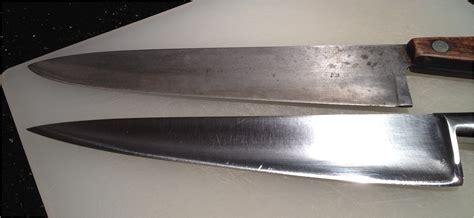 carbon steel for knives carbon steel knives the mystique of rust bon vivant