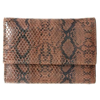 Found A Perfectly Chic Python Leather Clutch by Brown Clutches Wear Clutches