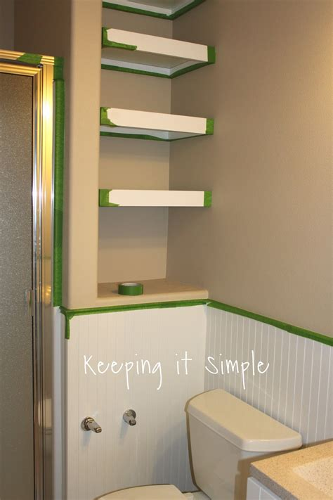 how did a frog get in my bathroom keeping it simple bathroom makeover with timeless touch design