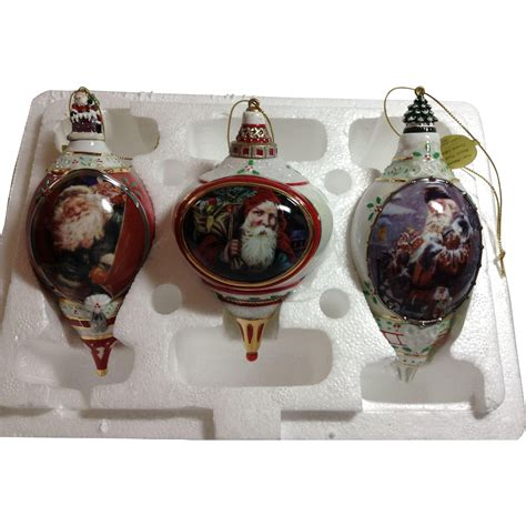 porcelain ornaments porcelain ornament trio from whywhynot on ruby