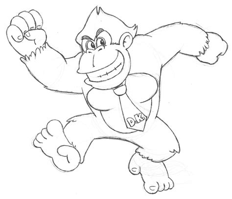 diddy kong coloring pages az coloring pages