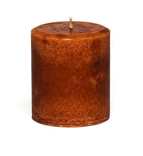 Handmade Decorative Candles - jensan cinnamon orange scented decorative pillar candle