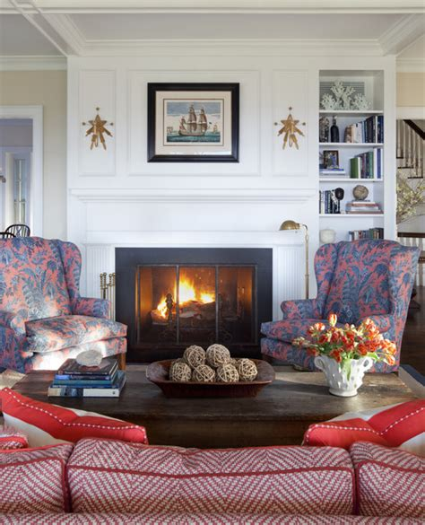 Nantucket Living Room by Nantucket Cliffs Traditional Living Room Other Metro