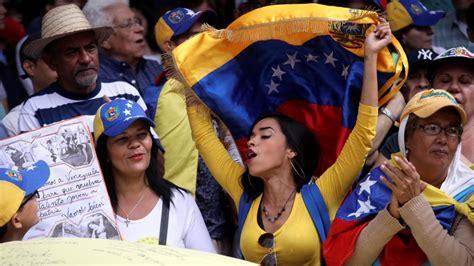 rival rallies held  venezuela  political crisis continues news al jazeera