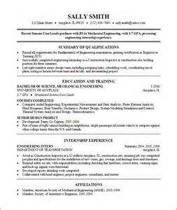 resume college degrees listed