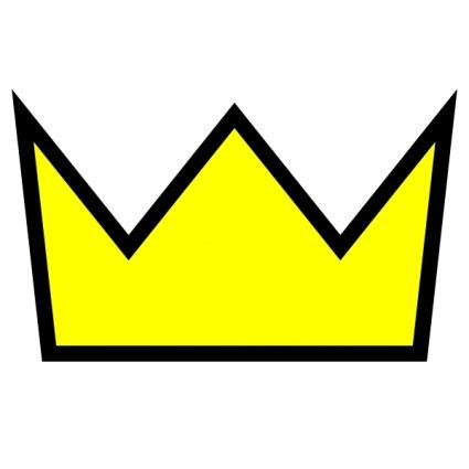 Clipart Crown clothing king crown icon clip vector free vector graphics vector me
