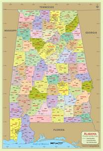 us cities zip code map buy alabama zip code with county map