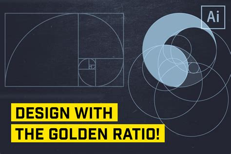 design logo using golden ratio the golden ratio for logo or icon design in illustrator
