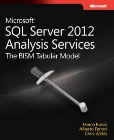 Bism Ms microsoft sql server 2012 analysis services the bism