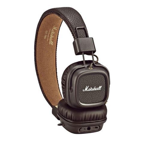Marshall Major Headphones marshall major ii bluetooth headphones brown at