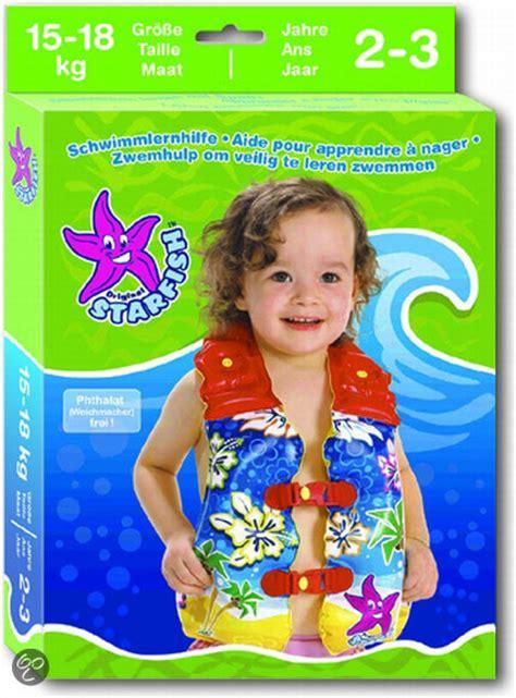 reddingsvest peuter hema bol starfish zwemvest maat b