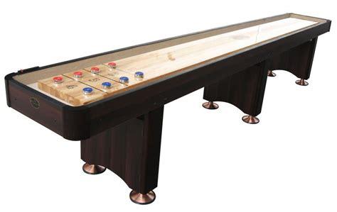 14 Espresso Playcraft Woodbridge Shuffleboard Table 14 Shuffleboard Table
