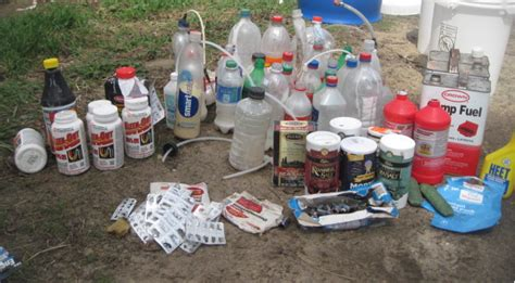 meth lab hundreds of shake and bake meth bottles found in green county three arrested
