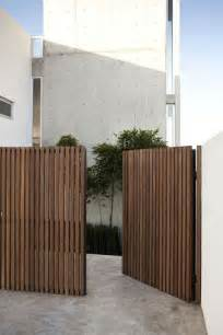 25 best ideas about modern gates on pinterest timber