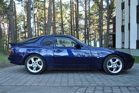 porsche 944 blue 1991 porsche 944 blue 200 interior and exterior images