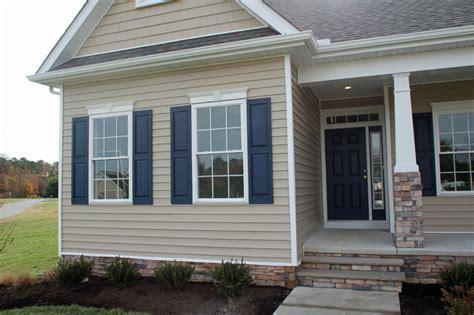 capstone homes custom rehoboth home style exterior